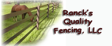 Horse fence installation near Farmville, VA