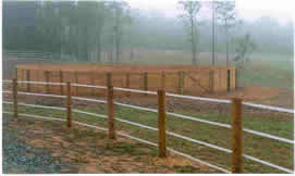 Horse Fence Design Horse fencing installer va and nc fence contractor 4 strands white safe fence electric tape fence workwithnaturefo